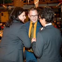 Andrea Mickel,Christian de Lapuente und Andrea Ernhofer