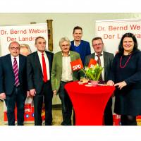 Dieter Betz, Bernd Weber, Richard Mergner, Sven John, Wolfgang Köcher,Andrea Mickl