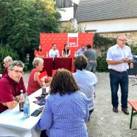 Begrüßung durch Bürgermeister Alfred Ostermeier Böhmfeld