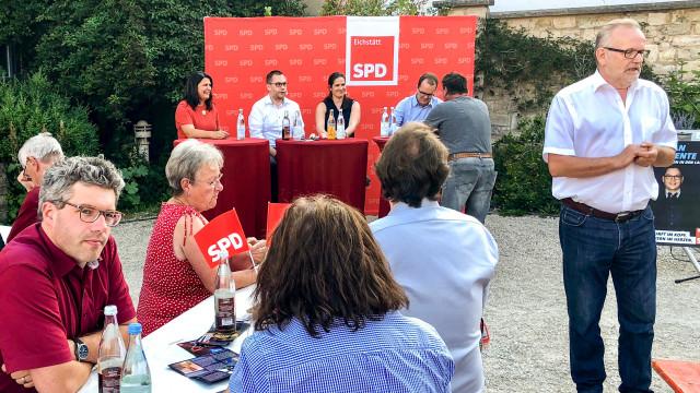 Wahlkampfauftakt des SPD Unterbezirk Eichstätt in Böhmfeld